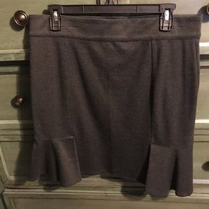 Max Studio grey skirt